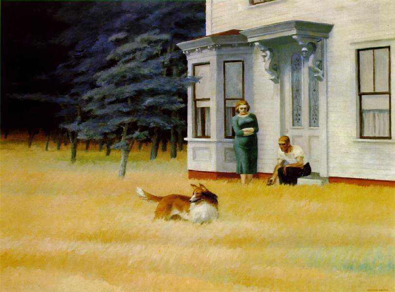 Cape Cod Evening, 1939 by Edward Hopper