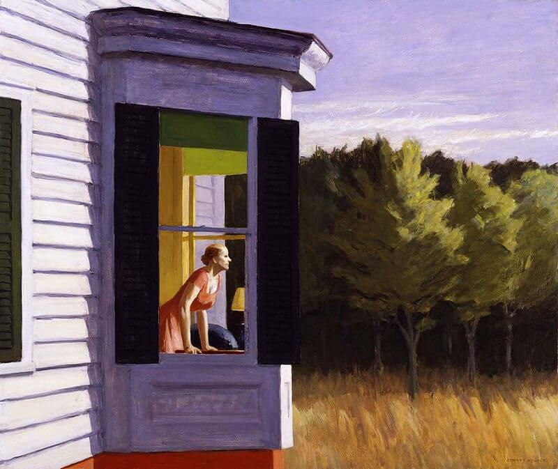 Cape Cod Morning,1950 by Edward Hopper