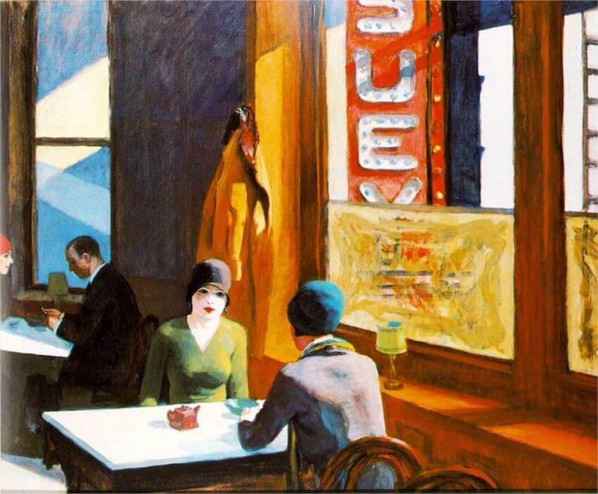 Chop Suey, 1929 by Edward Hopper
