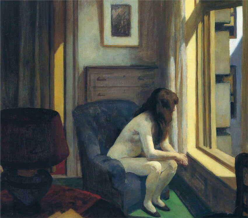 Eleven A M 1926 By Edward Hopper