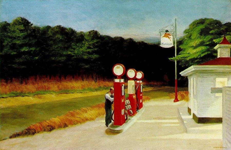 Edward Hooper / Benzin İstasyonu