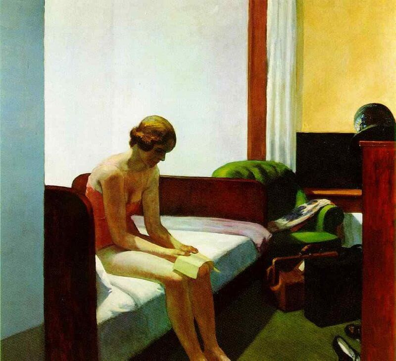 Hotel Room, 1931 by Edward Hopper