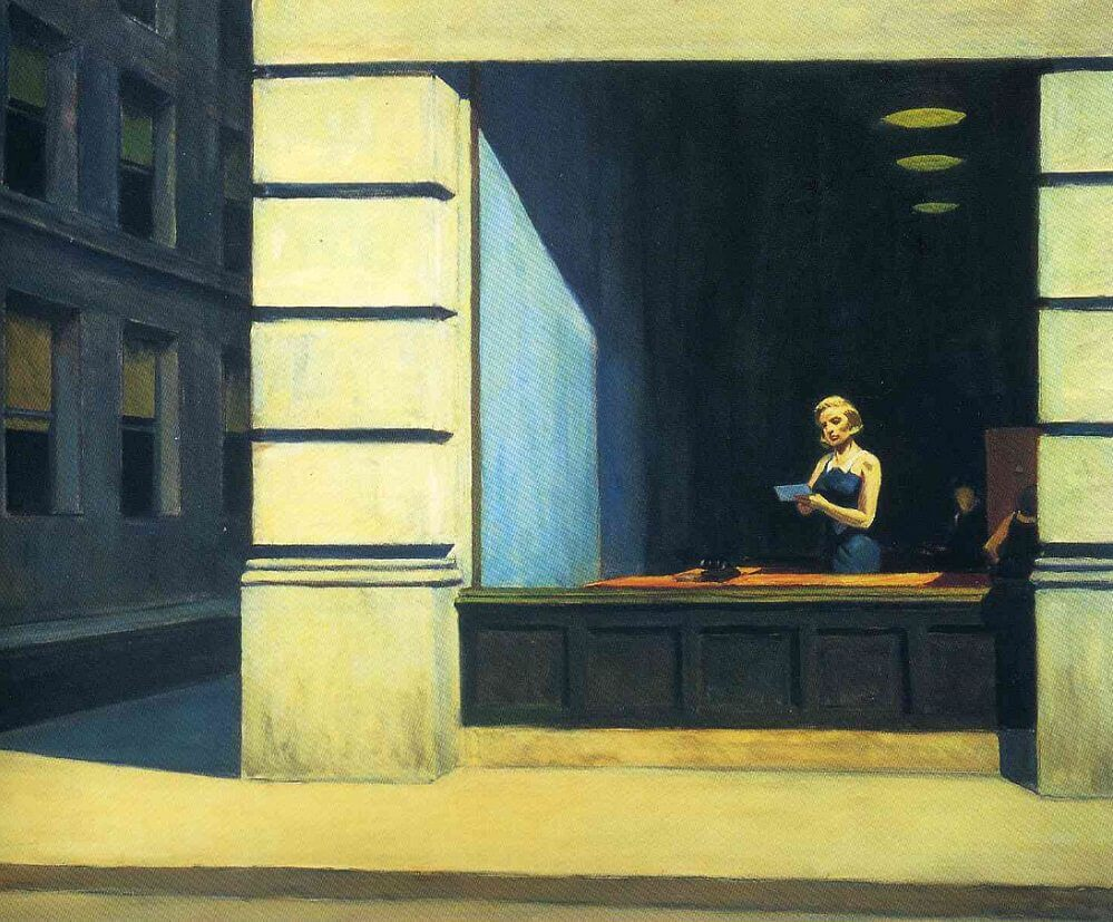 edward hopper paintings. Black Bedroom Furniture Sets. Home Design Ideas