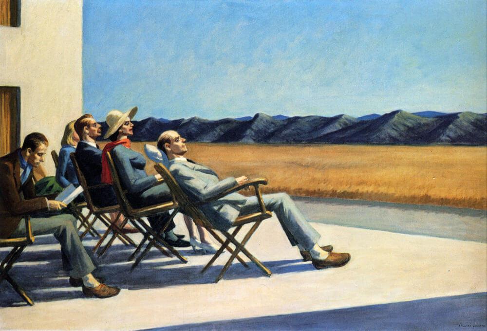 People in the Sun, 1963 by Edward Hopper