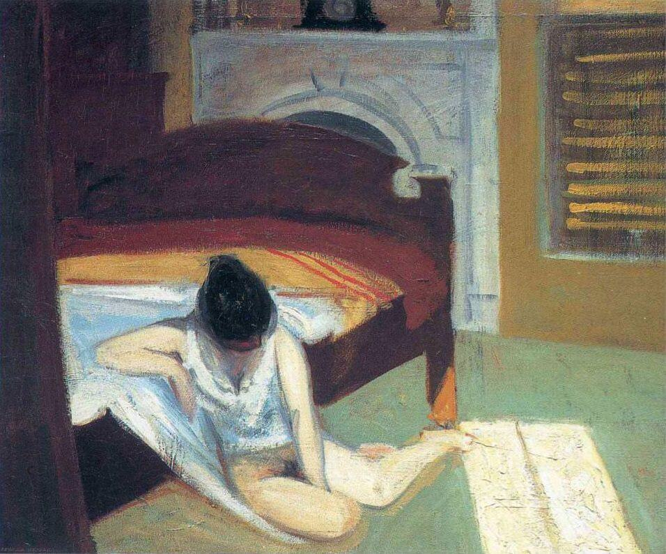 Summer Interior, 1909 by Edward Hopper