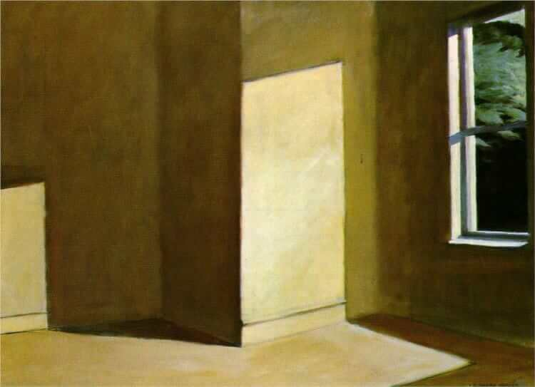 Sun in an Empty Room, 1963 by Edward Hopper