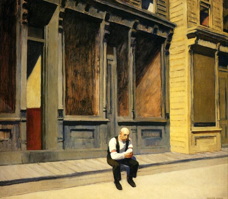 Sunday, 1926 by Edward Hopper