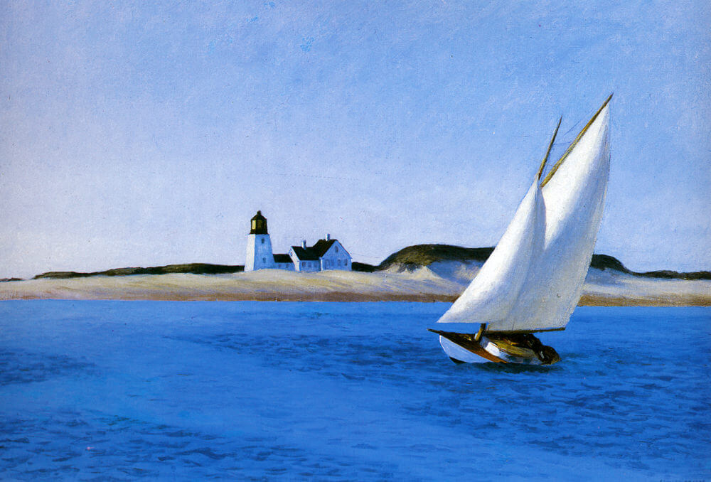 The Long Leg, 1935 by Edward Hopper