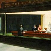 Nighthawks 1942 By Edward Hopper